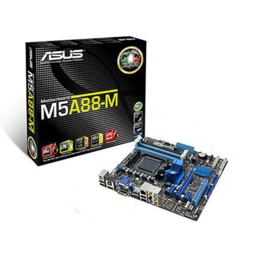 Asus M5A88-M Motherboard (Socket AM3+, Integrated Radeon 4250, Hybrid CrossfireX Support, USB 3.0/SATA 6GB/s)