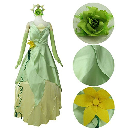 Cospl (Tiana Princess And The Frog Costumes Adults)