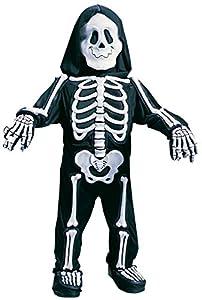 Fun World Costumes Baby Boy's Totally Skelebones, Black/White, Large