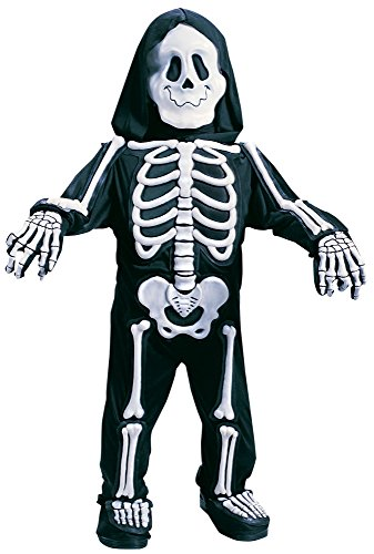 Fun World Costumes Baby Boy'S Totally Skelebones, Black/White, Large front-1020724