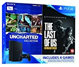 #1: Sony PS4 Slim 1 TB Console (Free Games: TLOU & Uncharted Collection)