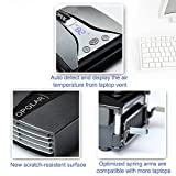 Opolar LC06 Laptop Fan with Temperature Display and Cooling Pads