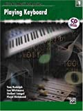 img - for Alfred's Music Tech Series Playing Keyboard Book 1 (Book & CD) book / textbook / text book