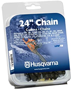 Husqvarna H4684 0.050-Inch Gauge Saw Replacement Chain, 24-Inch, 3/8-Inch Pitch