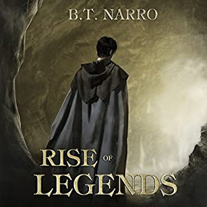Rise of Legends (The Kin of Kings: Book 2) Audiobook