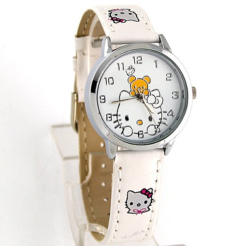 Miss Peggy Jos   Childs Hello Kittys KTT44 Quartz Movement Watch**Comes with a Hello Kitty Necklace***2 3 Days From Order to Your Door***