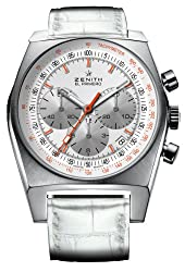 Zenith Women's 03.1969.401/02.C510 Vintage 1969 White Chronograph Dial Watch from Zen Awakening