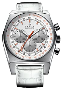Zenith Women's 03.1969.401/02.C510 Vintage 1969 White Chronograph Dial Watch by Zen Awakening