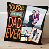 Personalize Best Dad Cushion GIFTS7989, Cushion, Cushion For Birthday, Personalised Cushion, Lovely Cushion, Unique...