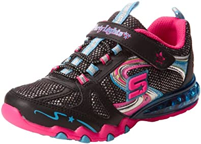 52041dd98c98 Skechers Kids 10306L S LIGHTS - Party Lights - Sparkle Diamonds Sneaker  with blinking lights (Little Kid)