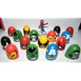 Marvel Avengers / Superheros Thumb Wrestlers Set of 17 Party Favors Fun for 4 or More
