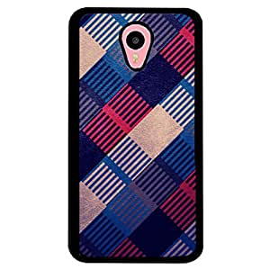 PRINTVISA Abstract Pattern Case Cover for Meizu M1 Note