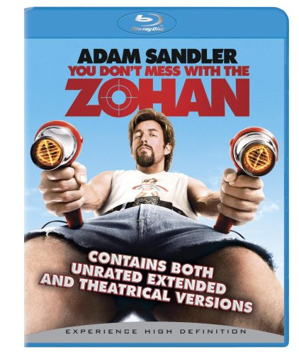 Cover art for  You Don't Mess With the Zohan (Unrated + BD Live) [Blu-ray]