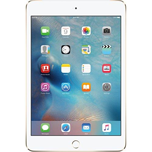 Apple iPad mini 4 (64GB) Wi-Fi + 4G LTE Cellular (Factory UNLOCKED) - Gold (Ipad Mini Wi Fi Cellular compare prices)