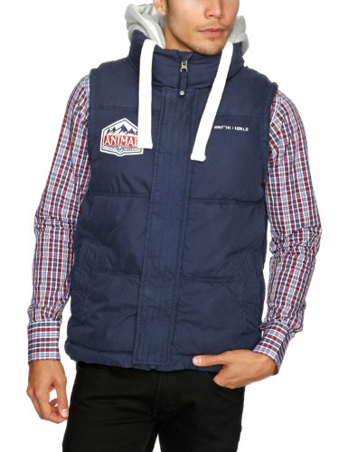 Animal Glaisdale Men's Gilet Nightshade Navy Small CL2WA097-493-S
