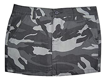 Dickies Camouflage Camo Army Skirt Punk Retro Goth Emo