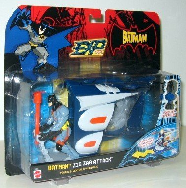 The Batman: Figure and Zig Zag Attack Vehicle