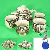 Teeservice Teetassen Tafelservice Teetime #1797 Kaffeservice Blumenmuster Cafe