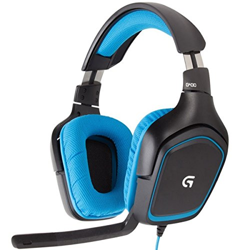 Logitech G430 Usb Surround Sound Gaming Headset 7.1 Channel With Volume Control