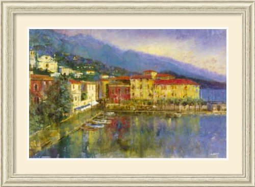 Bayside Village By Michael Longo Framed back-682668