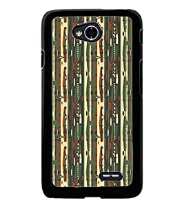 PrintDhaba Pattern D-5232 Back Case Cover for LG L90 (Multi-Coloured)