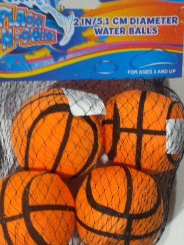 "Splash-N-Swim 2"" Water Balls - 4 Pack by Spalsh-N-Swim - 1"