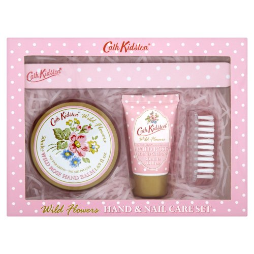 Cath Kidston Wild Rose Hand and Nail Care Set