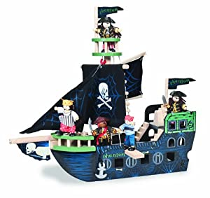 Le Toy Van Ghost Ship Pirate and Fantasy Collection
