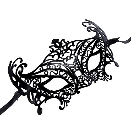 [SUPPION 2016 Women Sexy Hollow Carved Mask, Ladies Mask for Venetian Masquerade Halloween Mask] (Cool Costumes For Halloween 2016)