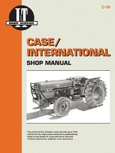 Case/International Shop Manual Models 385 485 585 685 &885 (I & T Shop Service) front-498092