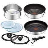 ティファール 鍋 フライパン セット 「インジニオ・ネオ」 取っ手の取れる IH ステンレス セット9 L92992