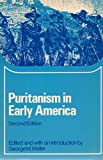 img - for Puritanism in Early America (Problems in American Civilization) book / textbook / text book