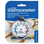 Kitchen Craft Oven Thermometer, Stain...