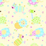 The Gift Wrap Company Roll of Reversible Gift Wrap, Patterned Pals