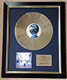Oasis Limited Edition CD Gold Disc Record What's the Story Morning Glory