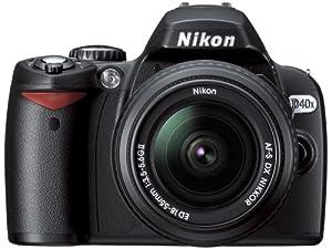 Nikon D40x 10.2MP Digital SLR Camera with 18-55mm f/3.5-5.6G ED II AF-S DX Zoom-Nikkor Lens