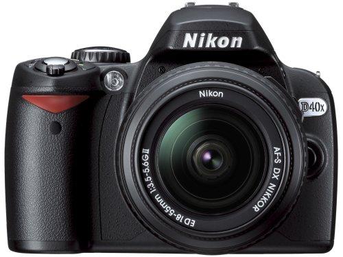 Nikon D40x (with 18-55mm Lens)