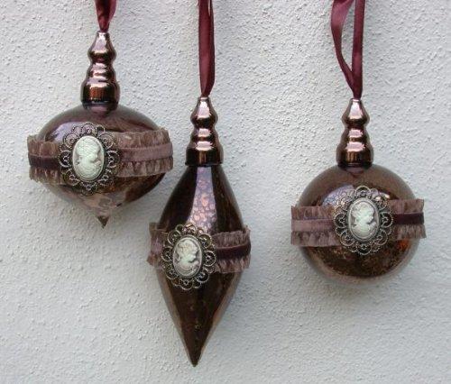 Die sch nsten weihnachtskugeln aus glas for Nostalgische weihnachtskugeln
