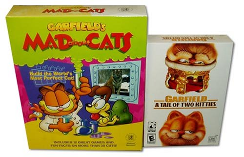 Garfield 2 Pack Mad About Cats and A Tail of Two Kitties