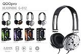 QOOpro G-012D Super Bass Headphones with Leaf Design