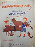 img - for Condonderry Air - A Series of Easy Violin Pieces (The Children's Hour Edition) book / textbook / text book