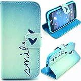 Macool (4 in 1) Portafoglio Custodia Protettiva PU Pelle Stand Flip Case Cover per Samsung Galaxy S4 Mini i9190...