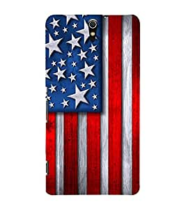 Fuson Premium Back Case Cover Flag design With yellow Background Degined For Sony Xperia C5 Ultra Dual::Sony Xperia C5 E5553 E5506::Sony Xperia C5 Ultra