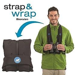New!!! Universal and Padded Miggo Strap and Wrap Binocular Case - Black