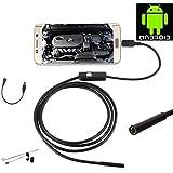 JZshop 5.5mm Lens Android HD Waterproof Endoscope Borescope Snake Inspection Video Digital Endoscope Borescope...