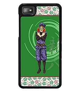 Printvisa 2D Printed Designer back case cover for Blackberry Z10 - D4279