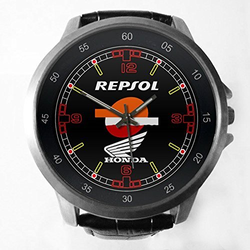 repsol-honda-official-team-motogp-sponsor-custom-metal-sport-watch-with-leather-band-by-printed