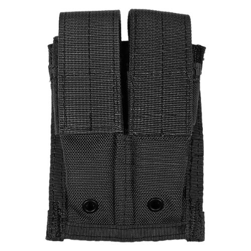 Flyye Tactical Double 9mm Magazine Pouch MOLLE Airsoft Black
