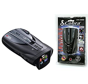 Cobra XRS 9955 Voice Alert 15 Band Radar/Laser Detector with 1.5-Inch Full Color Display and Upgradeable Red Light/Speed Features