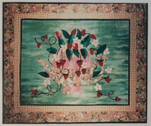 Summer Teapot Applique Wallhanging Stitching Craft Pattern